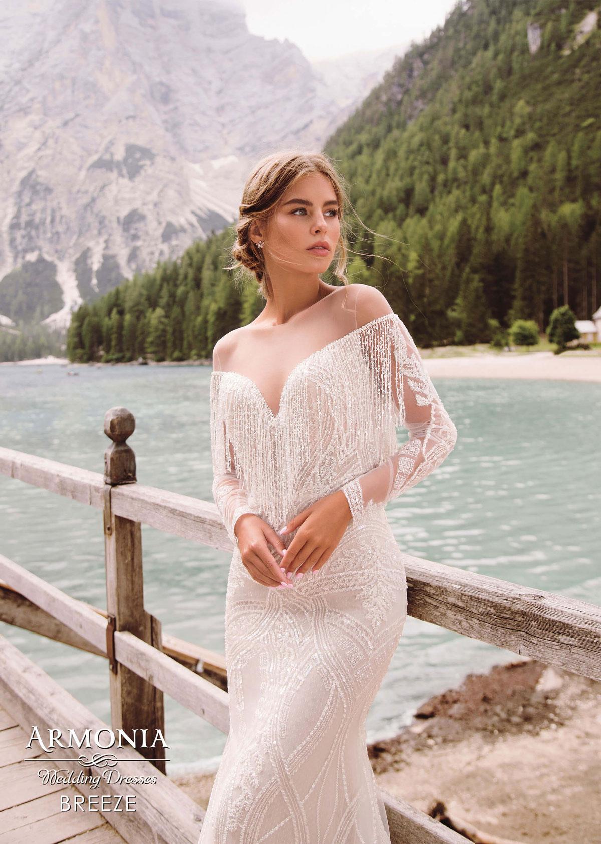 Cвадебное платье Breeze