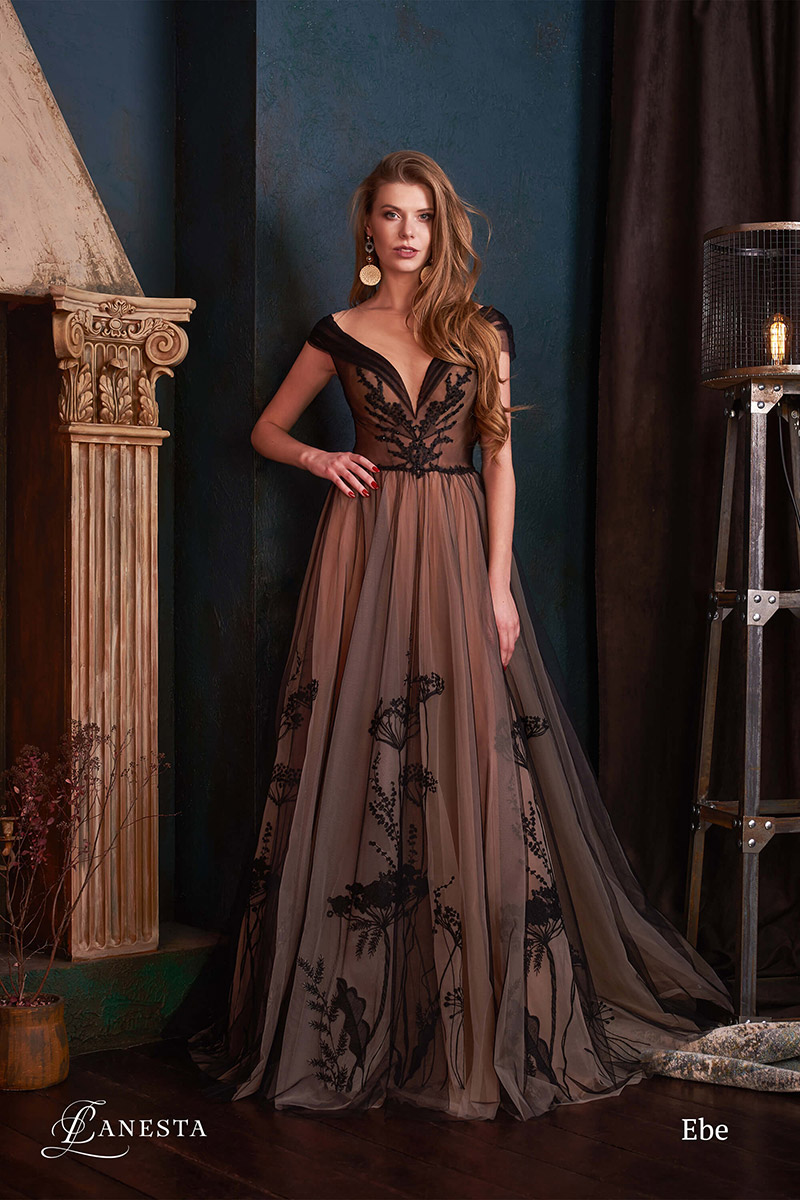 вечернее платье Elbe
