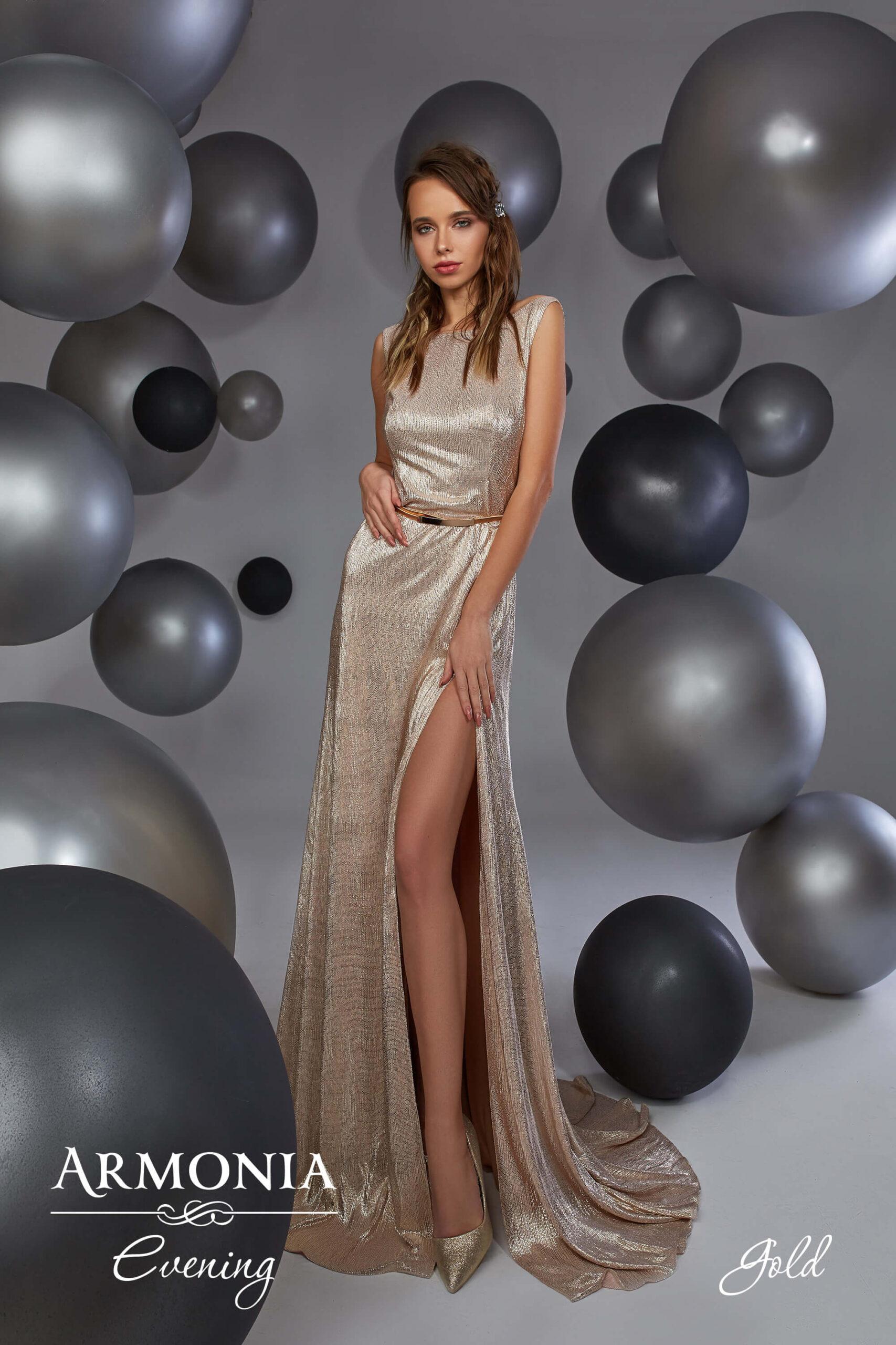 Вечернее платье Gold Armonia