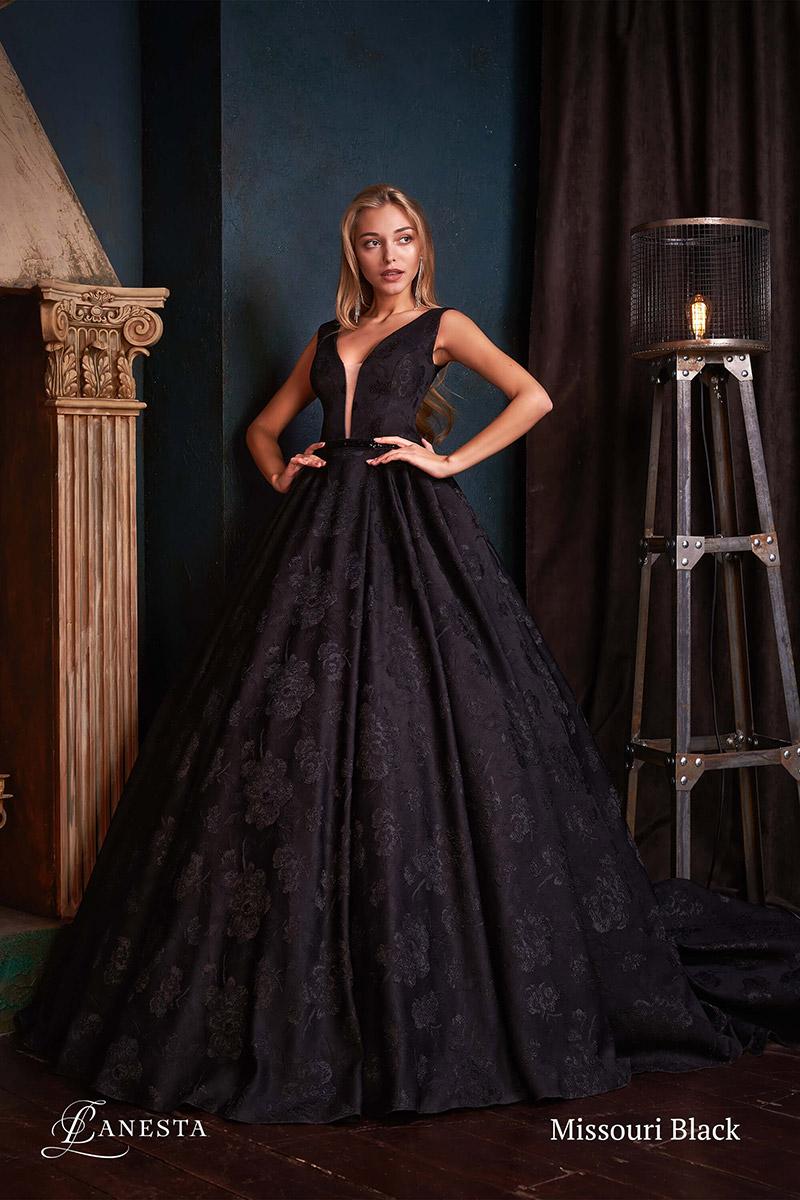 вечернее платье Missouri Black