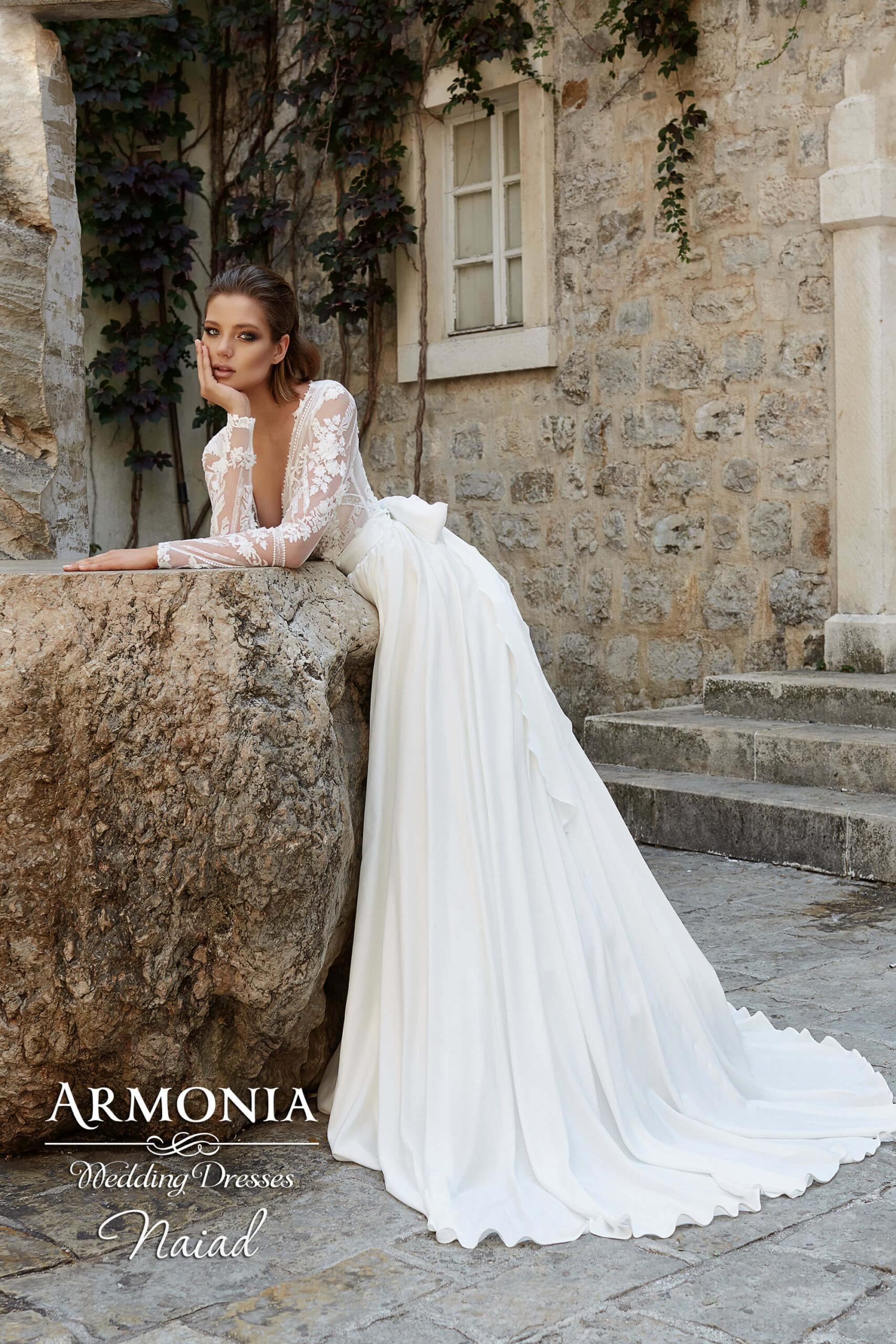 Весільна сукня А-силуету Naiad