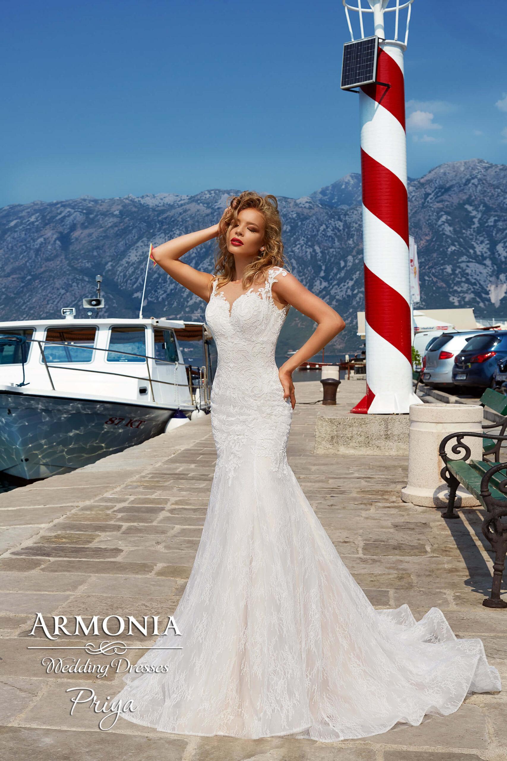 Весільна сукня силуету годе Priya