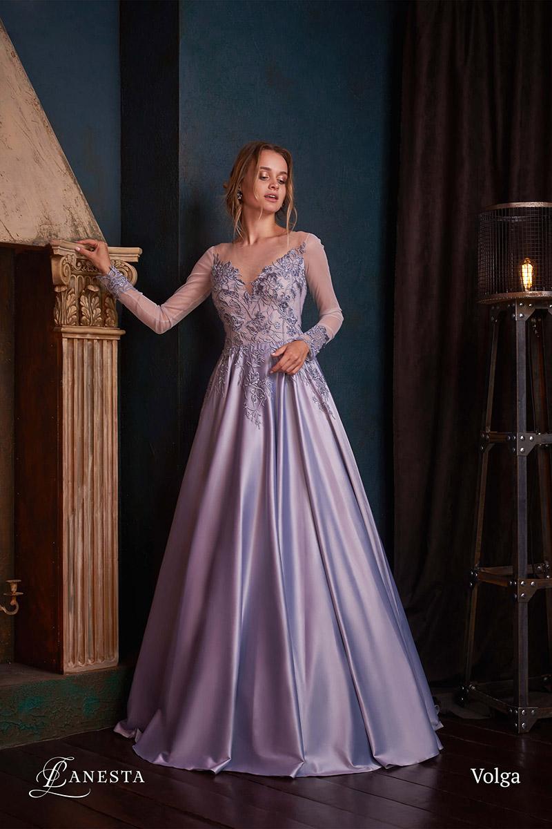 вечернее платье Volga