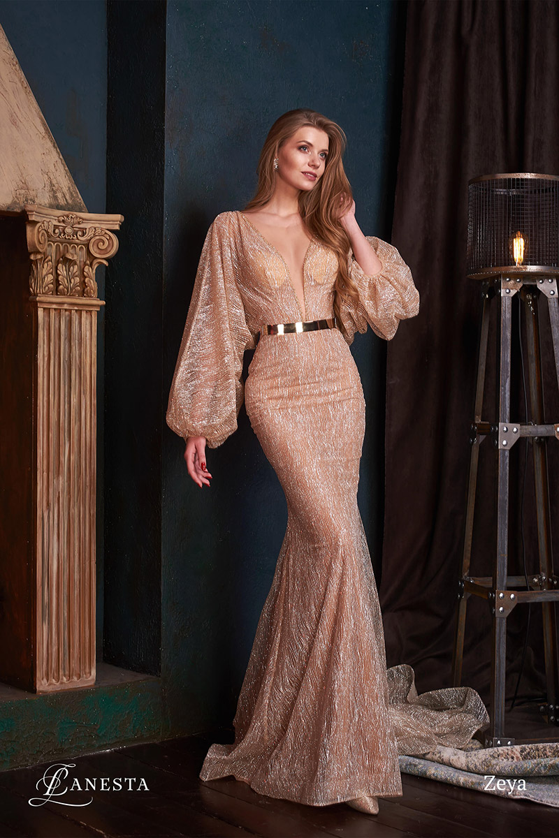 вечернее платье Zeya
